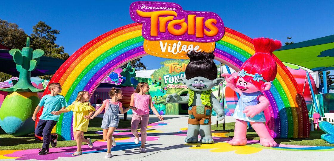 Dreamworld Trolls Village